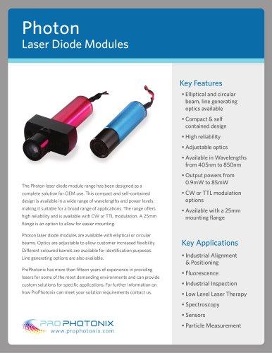 Photon laser diode module