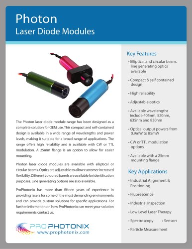 Photon Laser Diode Modules