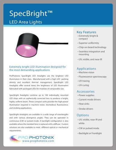 SpecBright? LED Area Lights