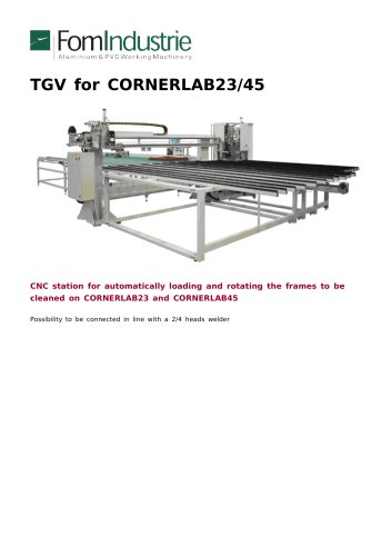 TGV for CORNERLAB23/45