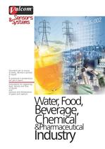 Valcom® & the Chemical, Petrochemical, Water, Food & Beverage Industry