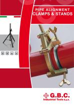 PIPE ALIGNMENT CLAMPS & STANDS - 1