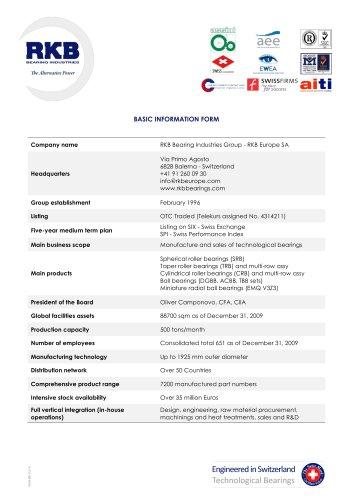 RKB Basic Information Form
