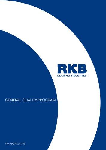 RKB General Quality Program