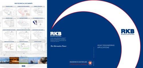 RKB Heavy Engineering Applications Leaflet