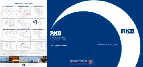 RKB Marine and Offshore Industry Leaflet