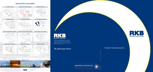 RKB Power Transmission Industry Leaflet