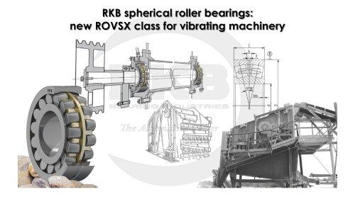 RKB ROVSX for Vibrating Machinery