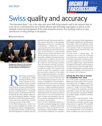 RKB - Swiss Quality and Accuracy