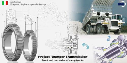 T3 Segment-Single - row taper roller bearings