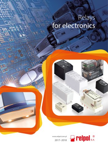 Relays for electronics