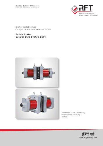 CALIPER DISC BRAKES / TYPE SCFH