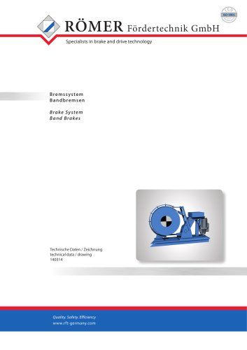 Catalogue Band Brakes