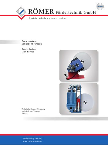 Catalogue Disc Brake
