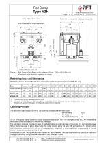 RAIL CLAMP / STORM BRAKE: TYPE VZH - 2