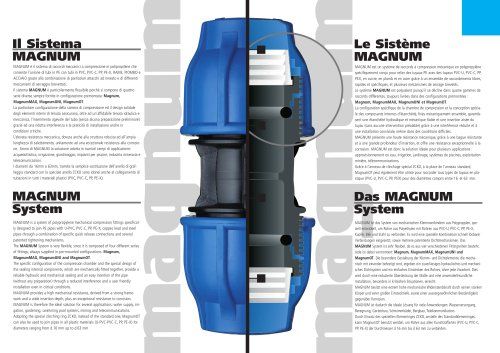 MAGNUM System and Clamp Saddles