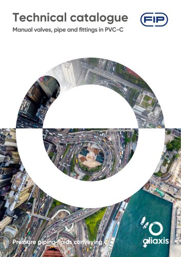 PIPES, FITTINGS AND MANUAL VALVES PVC-C
