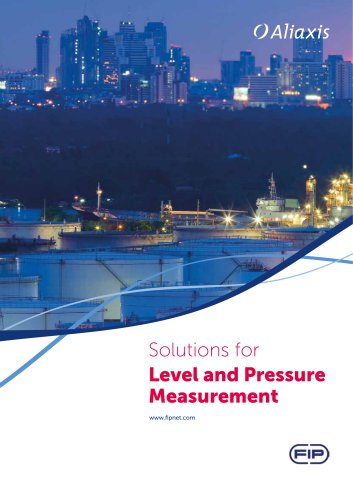 Solutions for Level and Pressure Measurement