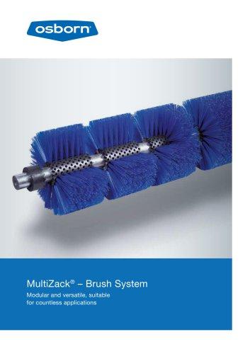 MultiZack® Modular Brush System