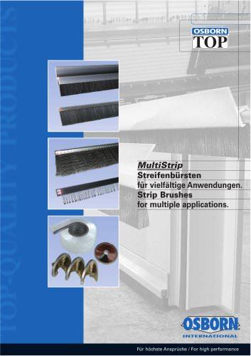 OSBORN MultiStrip catalogue