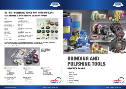 Osborn Polishing Catalogue