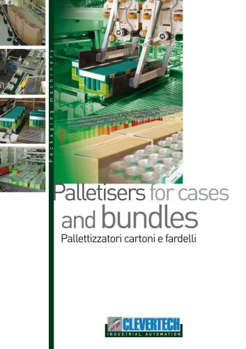 PALLETIZERS FOR CASES AND BUNDLES