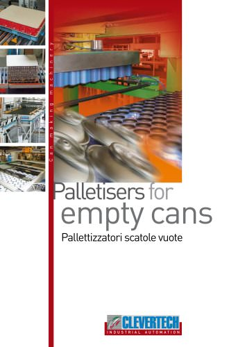 PALLETIZERS FOR EMPTY CANS