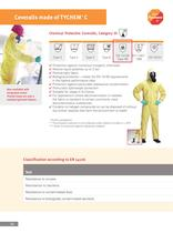 Clothing to protect against infection - 12