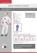 DuPont™ Proshield ® 10 / 30 coveralls - 1