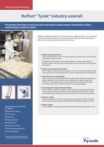DuPont™ TYVEK® Industry coverall - 1