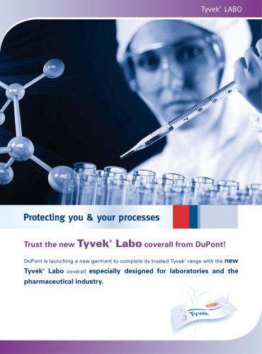 DuPont™ TYVEK® Labo coverall