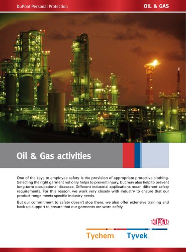 Oil & Gas activities