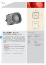 Asserta Mini 9-60Vdc AT Sounder