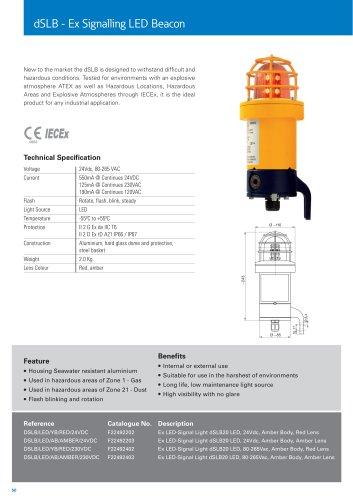 dSLB - Ex Signalling LED Beacon
