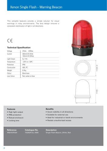 Xenon Single Flash - Warning Beacon