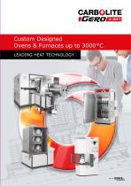 Custom Designed Ovens & Furnaces up to 3000 °C