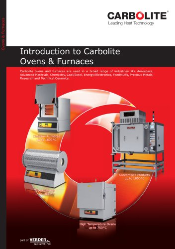 Introduction to Carbolite Ovens & Furnaces