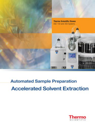ASE Series Automated Sample Preparation Accelerated Solvent Extractors Brochure