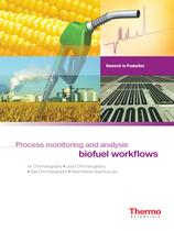 Biofuel Workflows Process Monitoring and Analysis