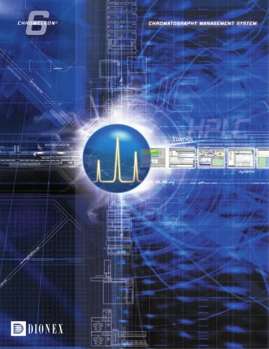 Chromeleon 6 - Chromatography Management System Brochure