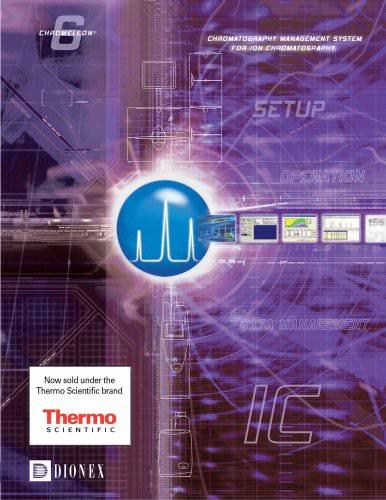Chromeleon Chromatography Management System for Ion Chromatography Brochure