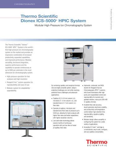 Dionex ICS-5000+ HPIC System