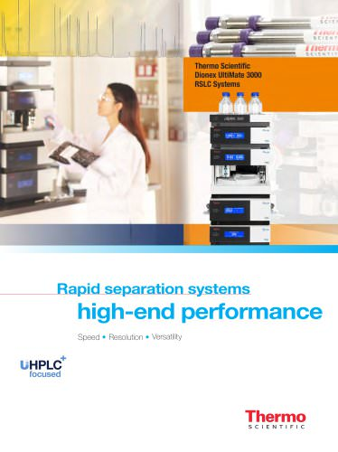 Rapid separation systems   high-end performance