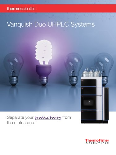 Vanquish Duo UHPLC Systems