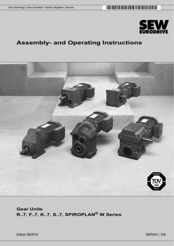 Assembly - and operating instructions