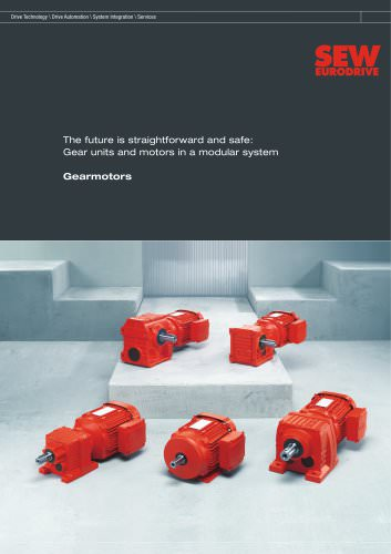 Gear units and motors in a modular system Gearmotors