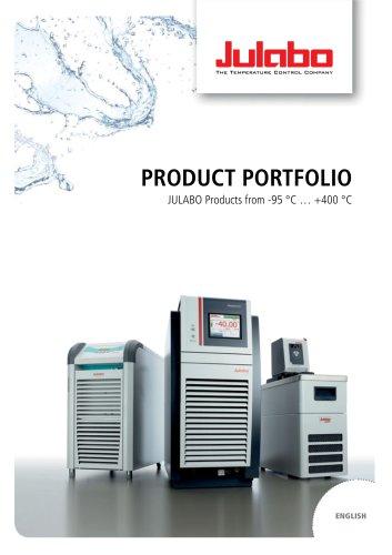 JULABO Productportfolio