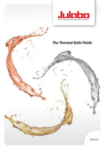 JULABO Thermal Bath Fluids