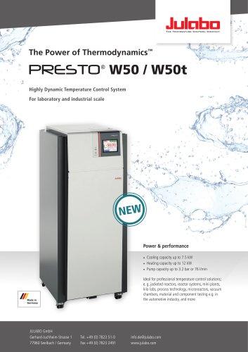 PRESTO W50 / W50 t flyer