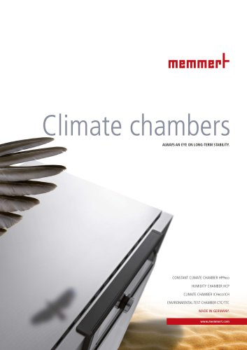 Climate Chambers